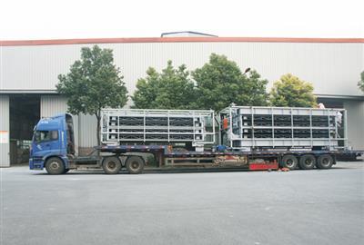 浙江德创产品成功出口老挝