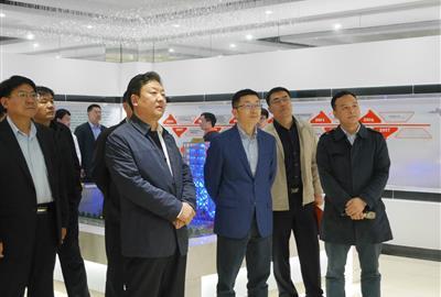 潍坊市党政代表团莅临德创环保考察指导