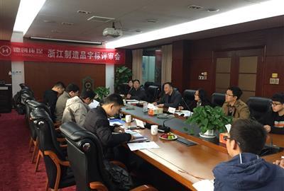 德创环保三项产品通过浙江制造品字标专家评审会