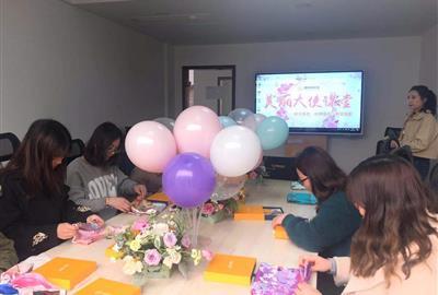三八妇女节福利延续丝巾讲座活动分享