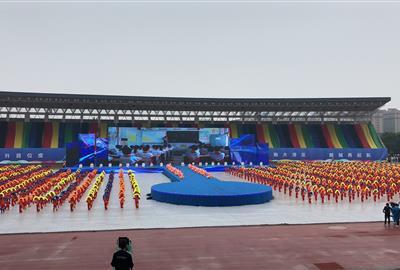 越城区第一届运动会开幕 ----德创健儿风采篇