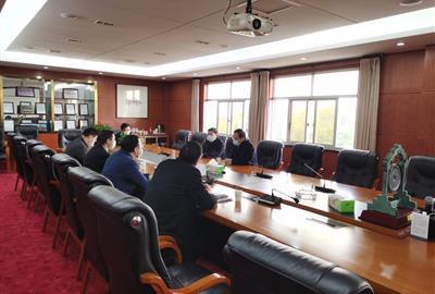 绍兴市委常委、组织部部长徐晓光一行来我司考察调研